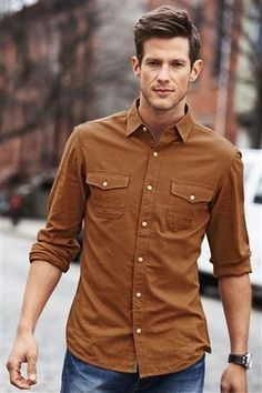 Buy Twill Shirt from the Next UK online shop Twill Shirt, Next Uk, Uk Online, Button Down Shirt, Men Casual, Clothing, Mens Tops, Shirts, Stuff To Buy
