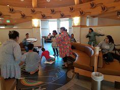 Alaska Native Medical Center, Hooper Bay Dancers