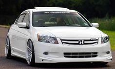 Modified Honda Accord 4-door sedan (8th generation)