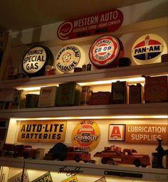 Original Gas & Oil Advertising Collection