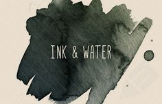 Medialoot - Ink and Water - Photoshop Brushes