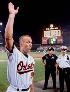 1995 Cal Ripken Jr breaks Lou Gehrig's record for most consecutive games played  when he plays in his 2,131 st game.