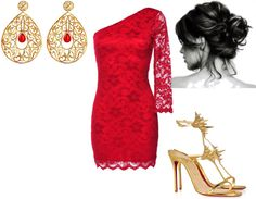 """""""Christmas party"""" by courtney-dyer-1 on Polyvore"""