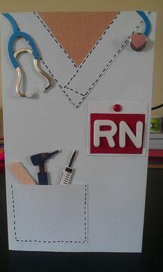 Nurse graduation card