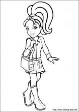 Polly Pocket Coloring Pages On Coloring Book.info