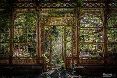 - abandoned greenhouse - Steampunk Greenhouse