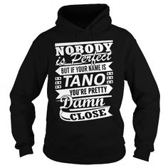 I Love TANO Pretty - Last Name, Surname T-Shirt T-Shirts