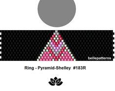 peyote ring pattern,PDF-Download, #183R, beading pattern, beading tutorials, ring pattern