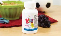 CLICK PE IMAGINE PENTRU DETALII  ---------------- Tu cum ai grijă de cei mici în perioada friguroasă? Forever Kids Chewable Multivitamins oferă copiilor substanţele nutritive de care au nevoie zi de zi. Amuzante şi delicioase, aceste multivitamine asigură atât adulţilor, cât şi copiilor de peste doi ani necesarul de vitamine şi minerale vitale, precum şi de fitonutrienţi care le pot lipsi din alimentaţie.  ---------------- CLICK PE IMAGINE PENTRU DETALII