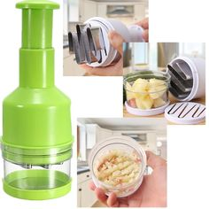 Pressing Vegetable Kitchen Garlic Onion Food Slicer Peeler image ideas from Best Kitchen Ideas Vegetable Chopper, Kitchen Accessories, Kitchen Gadgets, Cool Kitchens, Onion, Kitchen Decor, Garlic, Vegetables, Food