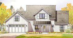 Open Layout Farmhouse House Plan - 970048VC thumb - 13