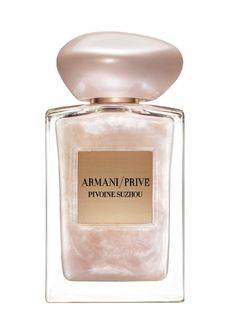 Armani Prive Pivoine Suzhou Soie de Nacre Limited Edition Giorgio Armani perfume - a new fragrance for women 2016 Perfume Armani, Hermes Perfume, Parfum Giorgio Armani, Armani Fragrance, Fragrance Parfum, Armani Perfume For Women, Womens Perfume, Perfume Collection, Makeup Vanities
