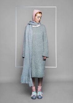 Scarf Dress Knitwear Style