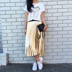 Cupro Skirt - blast 3,4 by VIDA VIDA