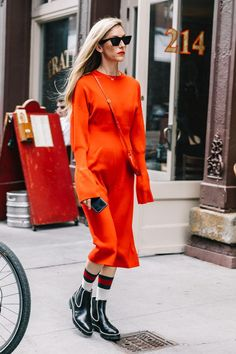 10 All-Red Outfits to Get You Into the Holidays 1545477b21f