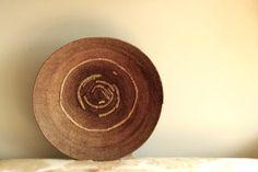 """Antique Makenge Wedding Basket - 23"""" Round - The Loaded Trunk"""