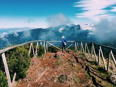 Perfect weather for a hike on the #pauldaserra to #picoruivodopaul with beautiful views across the plateau as well as down to Sao Vicente. Everyone has told us that the Paul da Serra is almost always shrouded in clouds so we feel very lucky to have had such beautiful weather today! #madeira by leonacampbellphoto