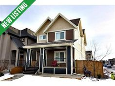 Mahogany House for sale: Original owners, corner lot, added side architectural controls with a permitted deck, walk up side entry to the basement & 4 car garage insulated and heated! Looking for value, how about a fully completed illegal 1 bedroom. Corner Lot, First Time Home Buyers, Car Garage, Calgary, Basement, Deck, Homes, Mansions, Bedroom