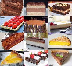 Doce recetas de pasteles y tartas