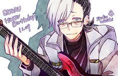 米森侑 Japanese App, The Wolf Game, Hot Anime Guys, Free Games, Tokyo Ghoul, Vocaloid, Character Design, Fan Art, Studio