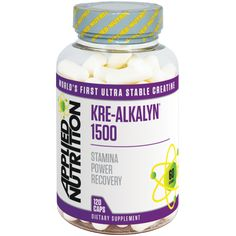 Applied Nutrition Kre-Alkalyn 1500 | Creatine - The UK's Number 1 Sports Nutrition Distributor | Shop by Category – The UK's Number 1 Sports Nutrition Distributor | Tropicana Wholesale
