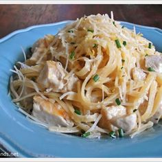 Lemon Parmesan Pasta with Chicken
