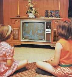 Vintage Children's Book Television Station...
