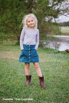 Modkid Mara Skirt and Perfect Tee Set