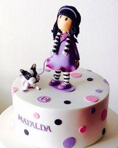 Gorjuss birthday cake