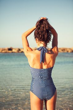 """Albion Fit """"On the Dot"""" Swimsuit"""