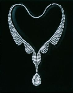 Harry Winston Collier en diamants par A.V. Shinde
