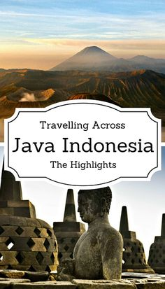 travelling across java, indonesia