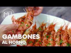 GAMBONES AL HORNO | Recetas fáciles para Navidad - YouTube