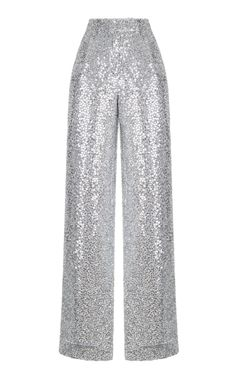 Silver Sequin Pants by Rasario Kpop Fashion Outfits, Stage Outfits, Dress Outfits, Girl Fashion, Fashion Dresses, Fashion Design, Pretty Outfits, Cute Outfits, Sequin Pants