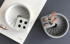 Pen Holders, Office Gifts, Industrial Style, Concrete, Stairs, Study, Stairway, Studio, Staircases
