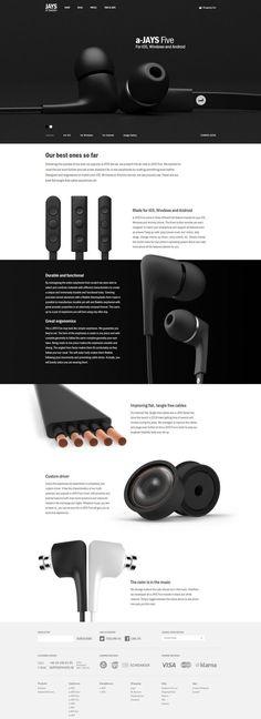 Jays website #webdesign: