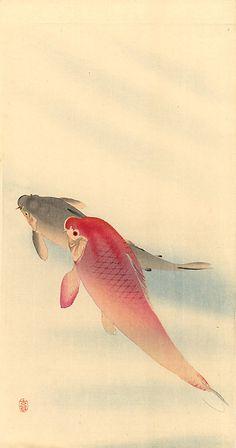 OHARA Koson (1877~1945), Japan