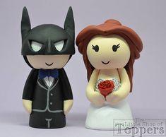 Items similar to Wedding Cake Topper - Superhero Groom & Beauty Bride on Etsy Superhero Cake Toppers, Disney Cake Toppers, Wedding Cake Toppers, Wedding Cakes, Our Wedding, Groom, Etsy Seller, Bride, Trending Outfits