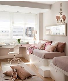 Teen Bedroom Ideas - Develop a space filled with personal expression, motivated by these teen room suggestions. Whether young boy or girl, infiltrate as well as find a style that fits. Dream Rooms, Dream Bedroom, Teen Bedroom, Bedroom Decor, Bedroom Ideas, Bedrooms, Bedroom Themes, Dispositions Chambre, Small Rooms