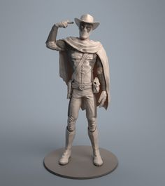 ArtStation - What ? You've never seen a cowboy before ? Deadpool WIP, Maxime Schyns