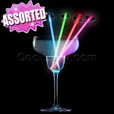 Assorted glow in the dark straws are perfect for all occasions! I CoolGlow.com