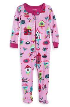 Holly Jolly Christmas - Kids Footed Pajamas  c5e38882b