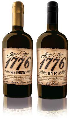 James E. Pepper 1776 Whiskey, Golden Creative, LLC, United States