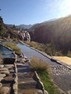 Termas de Cacheuta, Mendoza, Argentina. what an amazing place. would love to see it.
