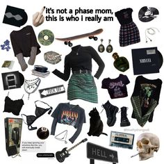 moda emo - Reality Worlds Tactical Gear Dark Art Relationship Goals Skater Girl Outfits, Emo Outfits, Grunge Outfits, Grunge Fashion, Cute Casual Outfits, Dress Outfits, Aesthetic Fashion, Aesthetic Clothes, Aesthetic Boy
