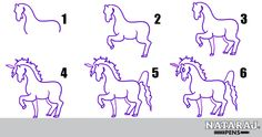 how to draw a unicorn art hub