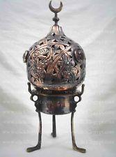Egyptian Handmade Brass Incense Burner