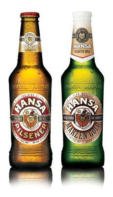 hansa - popular beer Popular Beers, Beers Of The World, More Beer, Beer Brands, Wine And Spirits, Claude Monet, Craft Beer, Packaging Design, Cool Designs
