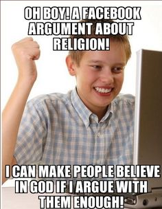 Let people believe what they want to believe in