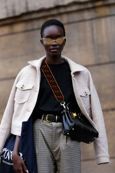 The Best Street Style at Paris Fashion Week 2019 – Daily Fashion Best Street Style, Cool Street Fashion, Street Style Women, Street Chic, Street Wear, Teen Vogue, Casual Styles, Daily Fashion, Fashion Weeks